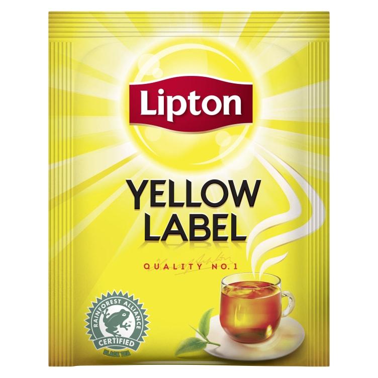 Bilde nr. 2 av 2 - Yellow Label te 25ps Lipton