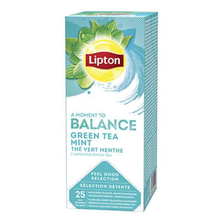 Bilde nr. 1 av 2 - Green Mint (grønn te) 25ps Lipton