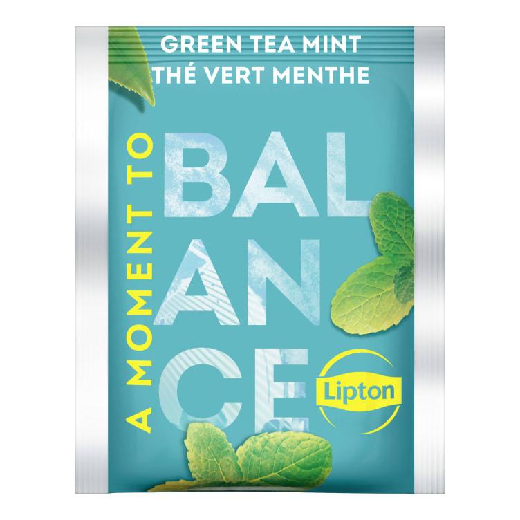 Bilde nr. 2 av 2 - Green Mint (grønn te) 25ps Lipton