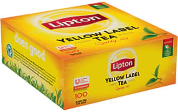 Bilde nr. 1 av 2 - Yellow Label te 100ps Lipton