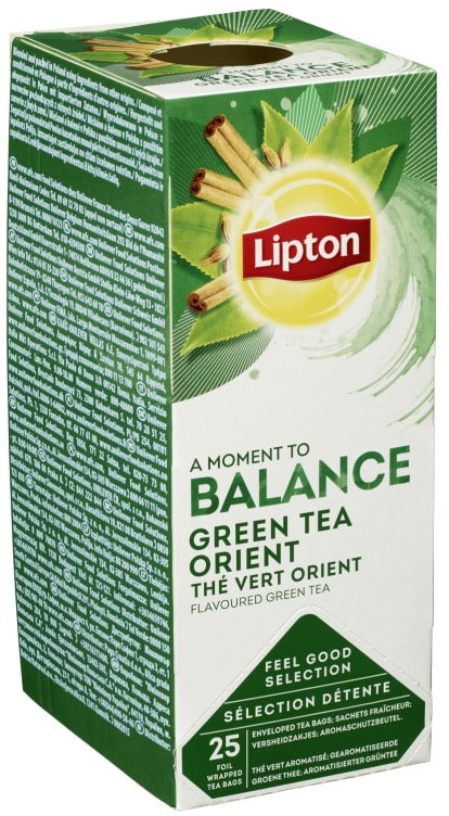 Bilde nr. 1 av 2 - Green Tchae Orient (grønn te) 25ps Lipton