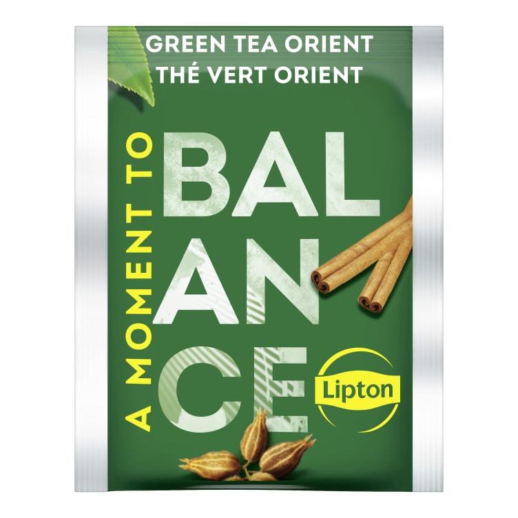 Bilde nr. 2 av 2 - Green Tchae Orient (grønn te) 25ps Lipton