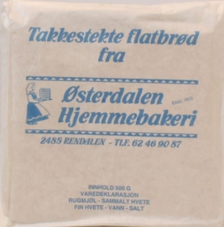 Bilde av ØSTERDALSFLATBRØD 500G