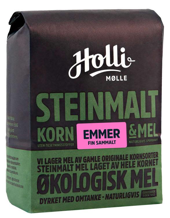 Bilde av EMMERMEL SAMMALT FIN ØKOLOGISK 1KG HOLLI