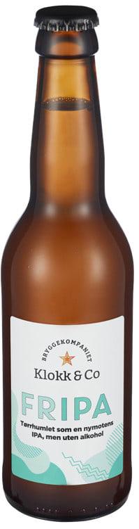 Bilde nr. 1 av 2 - KLOKK&CO FRIPA ALKOHOLFRI 0,33L FL