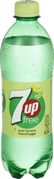 Bilde av 7UP FREE 0,5L FL