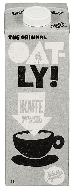 Bilde nr. 1 av 2 - HAVREDRIKK IKAFFE 1L OATLY