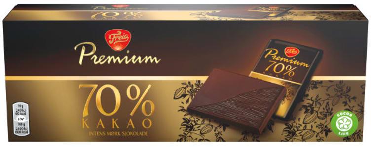 Bilde av PREMIUM DARK 70% COCOA
