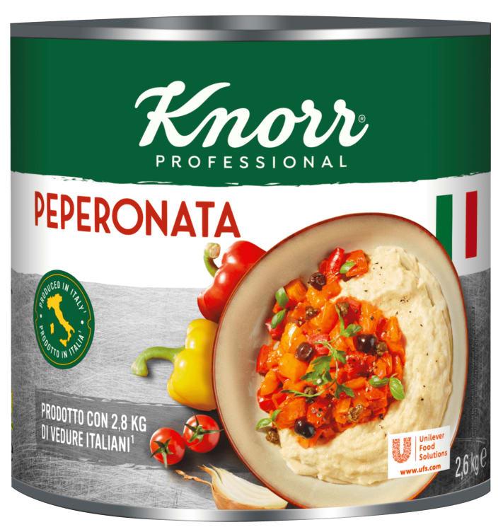 Bilde av Peperonata grønnsakskonserver 2,6kg Knorr