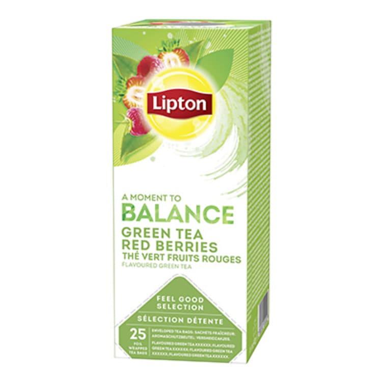 Bilde nr. 2 av 3 - GREEN TEA RED BERRIES 25POS LIPTON
