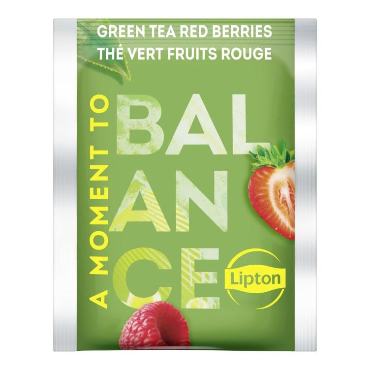Bilde nr. 3 av 3 - GREEN TEA RED BERRIES 25POS LIPTON