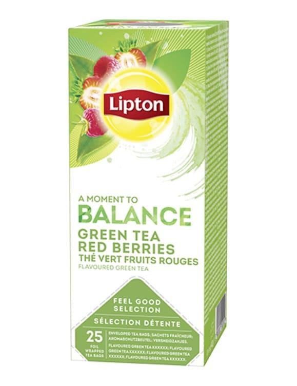Bilde nr. 1 av 3 - GREEN TEA RED BERRIES 25POS LIPTON