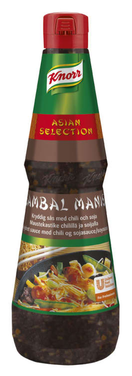 Bilde av Sambal Manis Kryddersaus (chili/soya) 1L Knorr