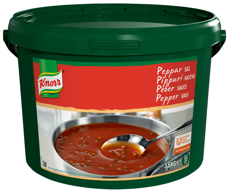 Bilde av Peppersaus pulver 30L Knorr