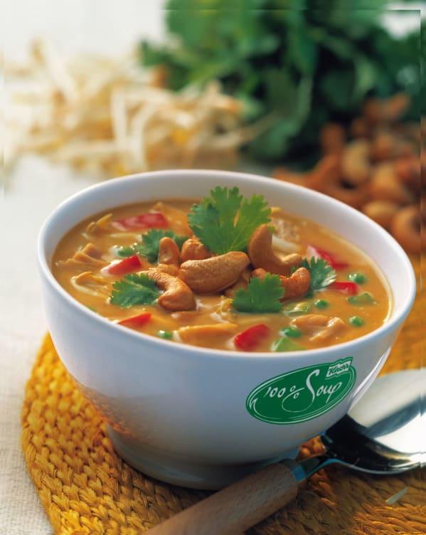 Bilde nr. 1 av 2 - 100% Chicken Tikka Soup serveringsklar 2,4L Knorr