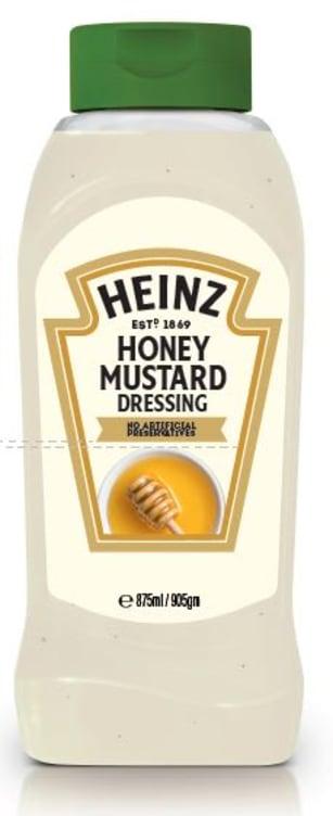 Bilde nr. 1 av 2 - HONEY MUSTARD DRESSING 800ML HEINZ
