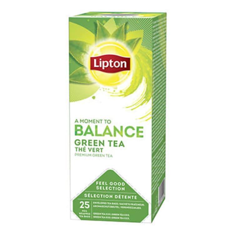 Bilde nr. 1 av 2 - Green (grønn te) 25ps Lipton