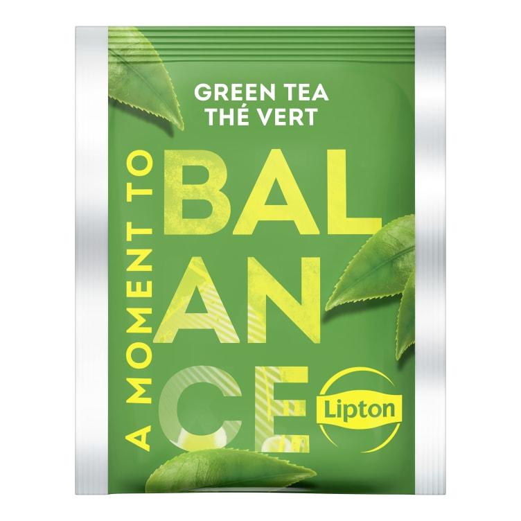 Bilde nr. 2 av 2 - Green (grønn te) 25ps Lipton