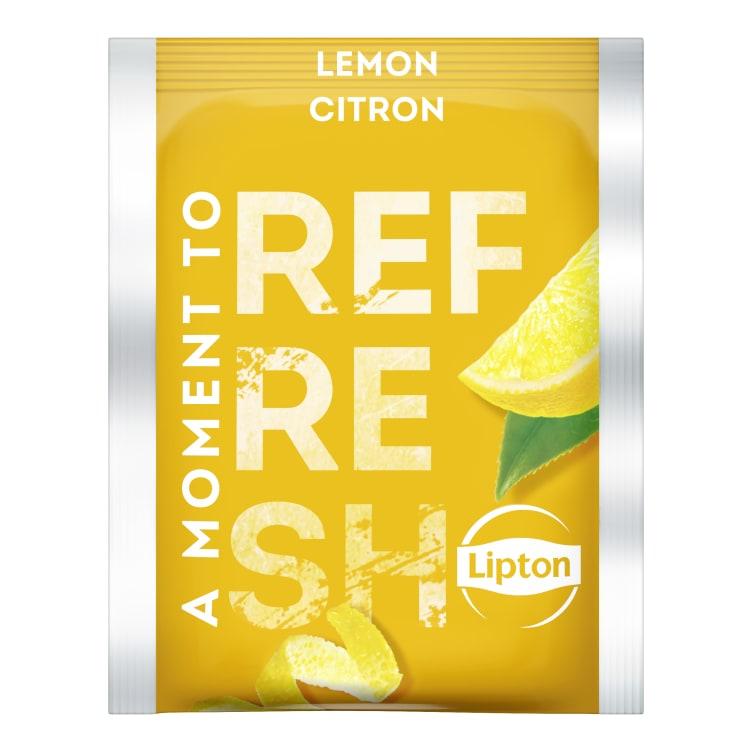 Bilde nr. 2 av 2 - Lemon (sitron) te 100ps Lipton