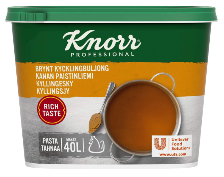 Bilde av Kyllingsjy pasta 40L Knorr